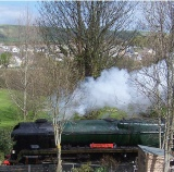Swanage Steam Railway nearby B and B at 3Quarters Bed and Breakfast